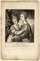 'Miss Crusses' (Elizabeth Hinchliffe (née Crewe); Emma Crewe), by Richard Brookshaw, published by  John Bowles, after  Sir Joshua Reynolds - NPG D3054