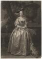 Miss Hudson, by John Faber Jr, after  Thomas Hudson - NPG D3120