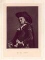 Benjamin Johnson, by Robert Bowyer Parkes, after  Peter van Bleeck - NPG D3155