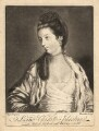 Lady Charlotte Johnstone (née Montagu), by Thompson, published by  John Bowles, after  Sir Joshua Reynolds - NPG D3183