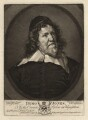 Inigo Jones, by Valentine Green, published by  John Boydell, after  Sir Anthony van Dyck - NPG D3185