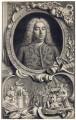 George Frideric Handel, by Jacobus Houbraken, by  Hubert-François Gravelot (né Bourguignon) - NPG D3214