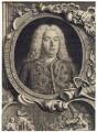 George Frideric Handel, by Jacobus Houbraken, by  Hubert-François Gravelot (né Bourguignon) - NPG D3216