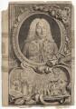 George Frideric Handel, by Jacobus Houbraken, by  Hubert-François Gravelot (né Bourguignon) - NPG D3217