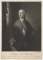Simon Harcourt, 1st Earl Harcourt, by James Macardell, after  Benjamin Wilson - NPG D3224
