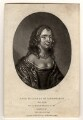 Anne Monck (née Clarges), Duchess of Albemarle, by Richard Earlom, published by  Samuel Woodburn, after  Unknown miniaturist - NPG D323