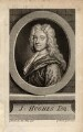 John Hughes, by Gerard Vandergucht, after  Sir Godfrey Kneller, Bt - NPG D3284