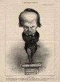 Victor Hugo, by Honoré Daumier - NPG D3285