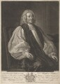Matthew Hutton, by and sold by John Faber Jr, after  Thomas Hudson - NPG D3293