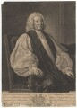 Matthew Hutton, by and sold by John Faber Jr, after  Thomas Hudson - NPG D3294