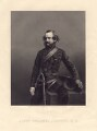 Sir William Francis Drummond Jervois, by Daniel John Pound, after a photograph by  John & Charles Watkins - NPG D3307