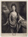 Anne Kynnesman (née Clarke), by and published by John Smith, after  Godfried Schalcken - NPG D3387