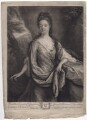 Anne Kynnesman (née Clarke), by and published by John Smith, after  Godfried Schalcken - NPG D3388