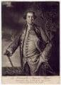 Augustus Keppel, Viscount Keppel, by Edward Fisher, published by  John Bowles, after  Sir Joshua Reynolds - NPG D3407