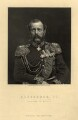 Alexander II, Emperor of Russia, after a photograph by W. & D. Downey - NPG D3408