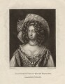Elizabeth Fitzgerald (née Jones), Countess of Kildare, by Robert Dunkarton, after  Willem Wissing - NPG D3419