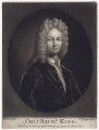 Richard King, by William Humphrey, after  Sir Godfrey Kneller, Bt - NPG D3429