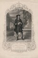 Charles John Kean as Gloucester in 'Richard III', published by John Tallis & Company, after  Reid - NPG D3450