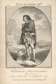 John Philip Kemble as Richard III, by John Thornthwaite, published by  John Bell, after  Gilbert Stuart - NPG D3465