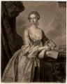 Mary Howard (née Finch), Viscountess Andover, by John Faber Jr, after  Thomas Hudson - NPG D354