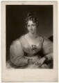 Lady (Maria) Theresa Lewis (née Villiers), by George Henry Phillips, after  Gilbert Stuart Newton - NPG D3561