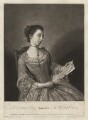 Probably Susanna Campbell (née Lewis), by James Macardell, after  Jean Etienne Liotard - NPG D3579