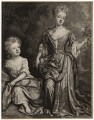 Countess of Sunderland and Duchess of Marlborough, by John Smith, after  Sir Godfrey Kneller, Bt - NPG D3673