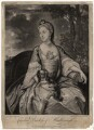 Lady Caroline Spencer (née Russell), Duchess of Marlborough, by Richard Purcell (H. Fowler, Charles or Philip Corbutt), published by  Robert Sayer, after  Sir Joshua Reynolds - NPG D3677