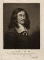 Andrew Marvell, by John Raphael Smith, after  Unknown artist - NPG D3680