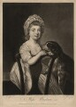 Lady Helena Oakeley (née Beatson), by Elizabeth Judkins, printed for  Robert Sayer, after  Katharine Read - NPG D3710