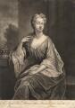 Margaretta Maria Murray (née de Yong), Lady Elibank, by John Simon, after  Sir Godfrey Kneller, Bt - NPG D3731
