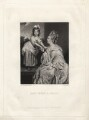 Sarah Mayne (née Otway); Sarah Otway (née Hayes), by James Scott, after  Sir Joshua Reynolds - NPG D3790