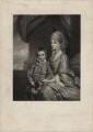 Elizabeth Herbert (née Spencer), Countess of Pembroke, by Frederick Bromley, after  Sir Joshua Reynolds - NPG D3845