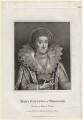 Mary Herbert, Countess of Pembroke, by E. Bocquet, published by  John Scott - NPG D3857