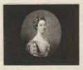 Penelope Pitt (née Atkins), Lady Rivers when Mrs Pitt, by Richard Houston, after  Penelope Carwardine - NPG D3890
