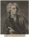 Alexander Pope, by John Simon, after  Michael Dahl - NPG D3934