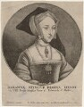 Jane Seymour, by Wenceslaus Hollar, after  Hans Holbein the Younger - NPG D4061
