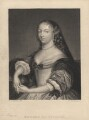 Marie, Marquise de Sévigné (née de Rabutin-Chantal), by William Greatbach, after  George Perfect Harding - NPG D4065