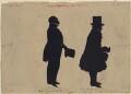 Peter Nimmo; James Beattson, by Augustin Edouart - NPG D407