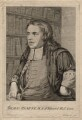 Thomas Hearne, by George Vertue, after  Peter Tillemans - NPG D4070