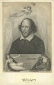 William Shakespeare, by James Heath, published by  Jones & Co, probably after  John Taylor - NPG D4071