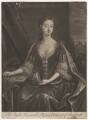 Bessey Nassau van Zuylestein (née Savage), Countess of Rochford, by and published by John Smith, after  Charles D'Agar - NPG D4085