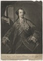 Charles Watson-Wentworth, 2nd Marquess of Rockingham, by Richard Houston, printed for  Robert Sayer, after  Benjamin Wilson - NPG D4093