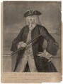 Sir William Rowley, by and sold by John Faber Jr, sold by  Thomas Bowles Jr, sold by  John Bowles, after  Claude Arnulphy - NPG D4109
