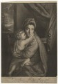 'Caroline Curzon (née Colyear), Lady Scarsdale with her son the Honourable John Curzon' (John Curzon; Caroline Curzon (née Colyear), Lady Scarsdale), by P. or S. Paul (Samuel de Wilde?), after  Sir Joshua Reynolds - NPG D4166