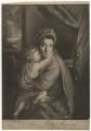 'Caroline Curzon (née Colyear), Lady Scarsdale with her son the Honourable John Curzon' (John Curzon; Caroline Curzon (née Colyear), Lady Scarsdale), by P. or S. Paul (Samuel de Wilde?), after  Sir Joshua Reynolds - NPG D4166