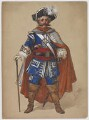 Lionel Brough as the Commodore, by Lucien Besche - NPG D42