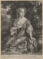 Elizabeth Seymour (née Percy), Duchess of Somerset, by Jan van der Vaart, published by  Edward Cooper, after  Sir Peter Lely - NPG D4261