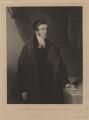 Joseph Sortain, by Henry Edward Dawe, published by  William Henry Mason, after  Hardy - NPG D4276