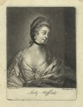 Anne Wentworth (née Campbell), Countess of Strafford, by Richard Brookshaw, after  Sir Joshua Reynolds - NPG D4290